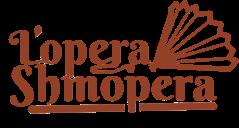 lopera shmopera logo red text fan