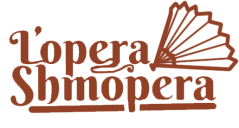 lopera shmopera logo red text fan