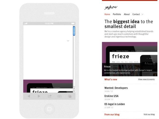 responsinator vs. screenshot