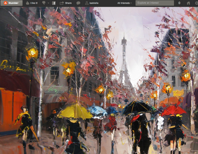 StumbleUpon paris scene