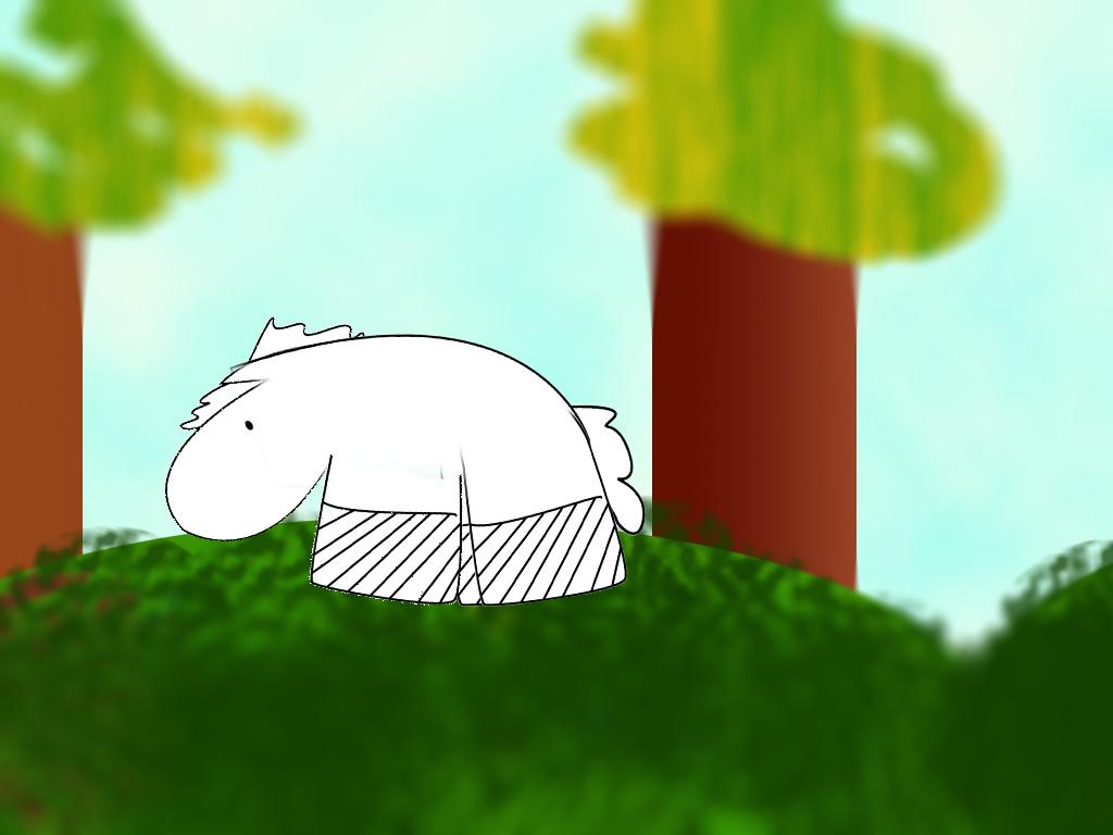 mr yoks animation baby horse