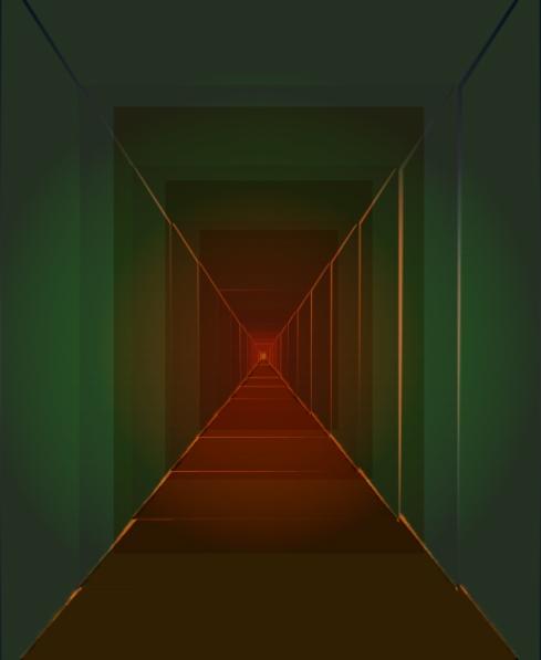 hallway abstract