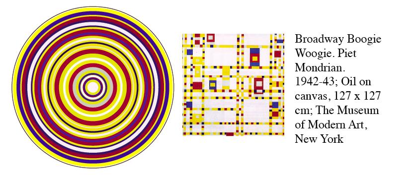 Boogie Woogie by Piet Mondrian Abstract