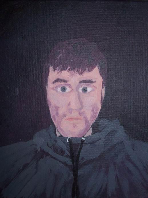 self portrait of mike o
