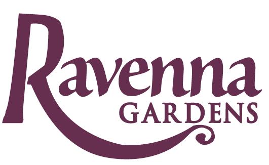 ravenna gardens logo design