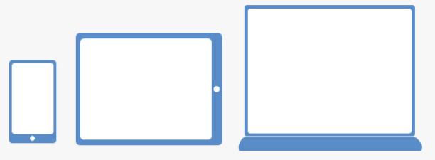 3 layouts responsive