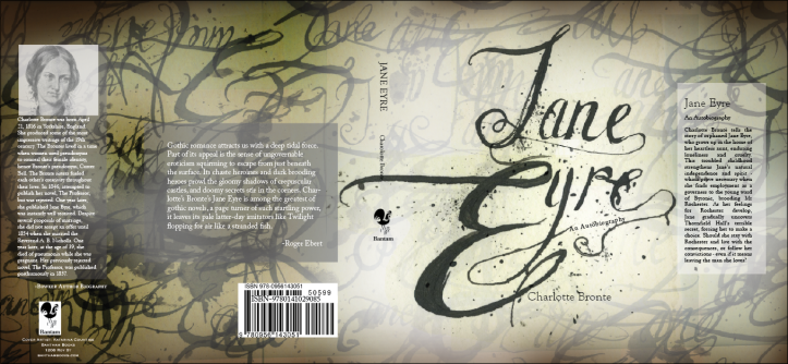 book cover version 1 Jane Eyre