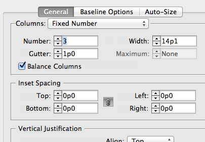 balance columns and align to baseline grid