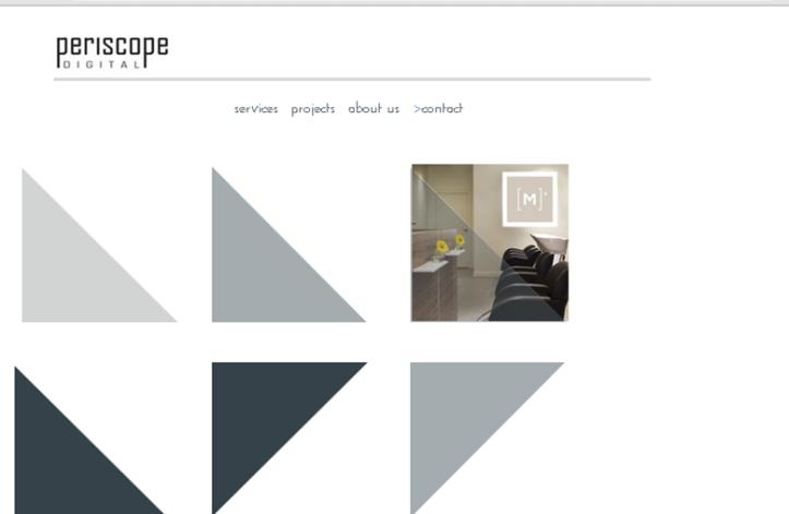 screenshot of persicope digital on tablet