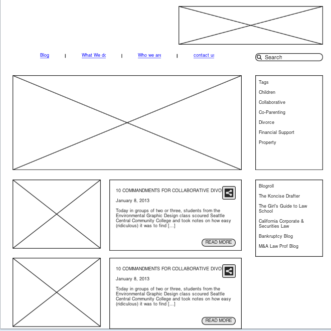 wireframe cdk blog