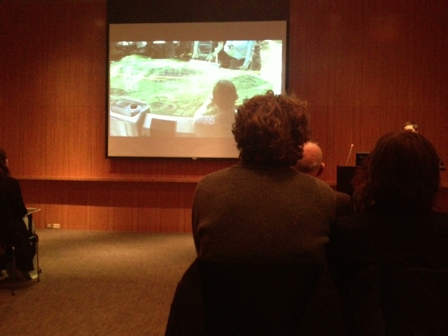 Photo from the sold-out event in Seattle Art Museum's Board Room.