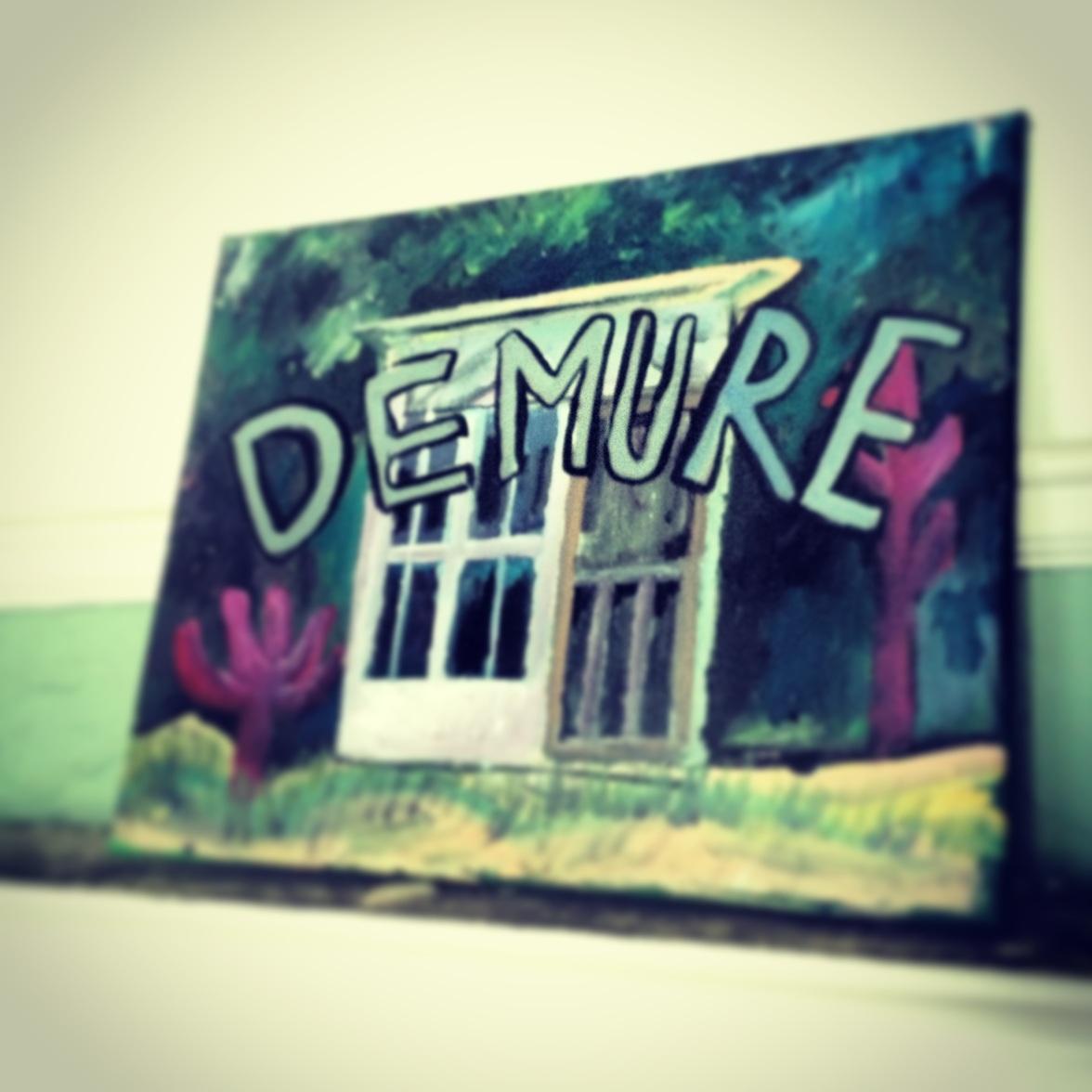 demure