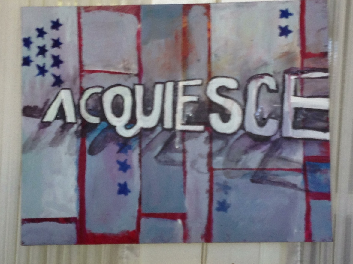acqueisce word painted