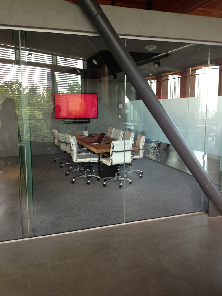 One of Intentional Future's conference room