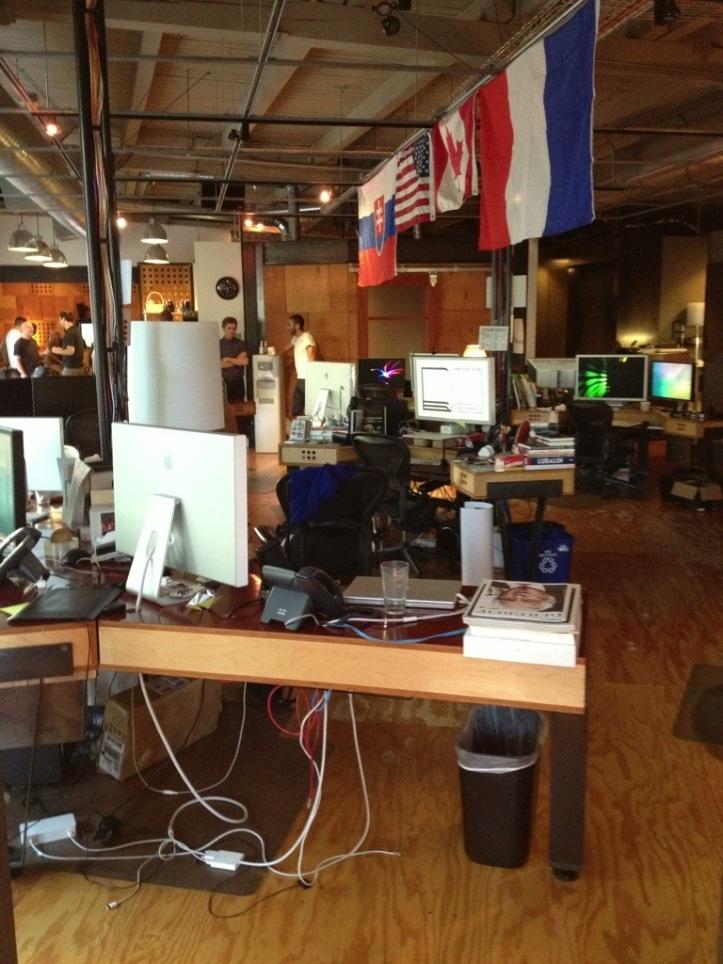 Digital Kitchen's work space