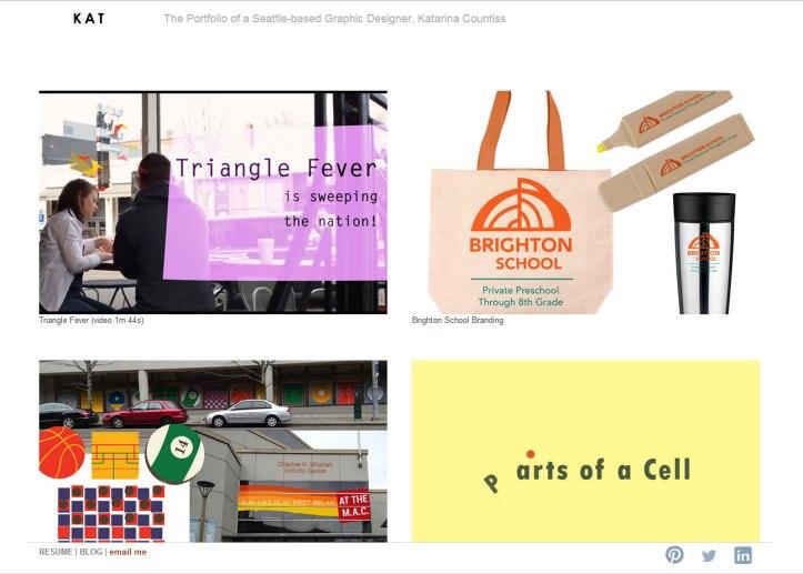 My New Portfolio Landing Page