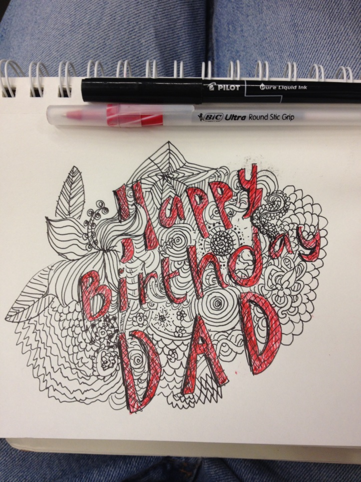 Birthday Card for Dad