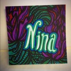 16) Birthday Card for Nina