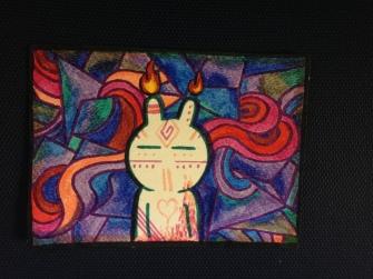 20) Tuzki Flame