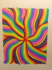 """Rainbow Strokes"""