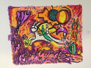 """Song of Bun, IV Ala Chagall"""