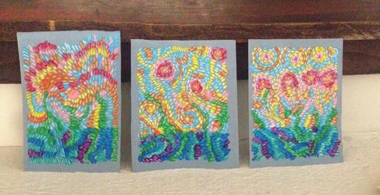 """""""Evolving Sky Triptych"""""""