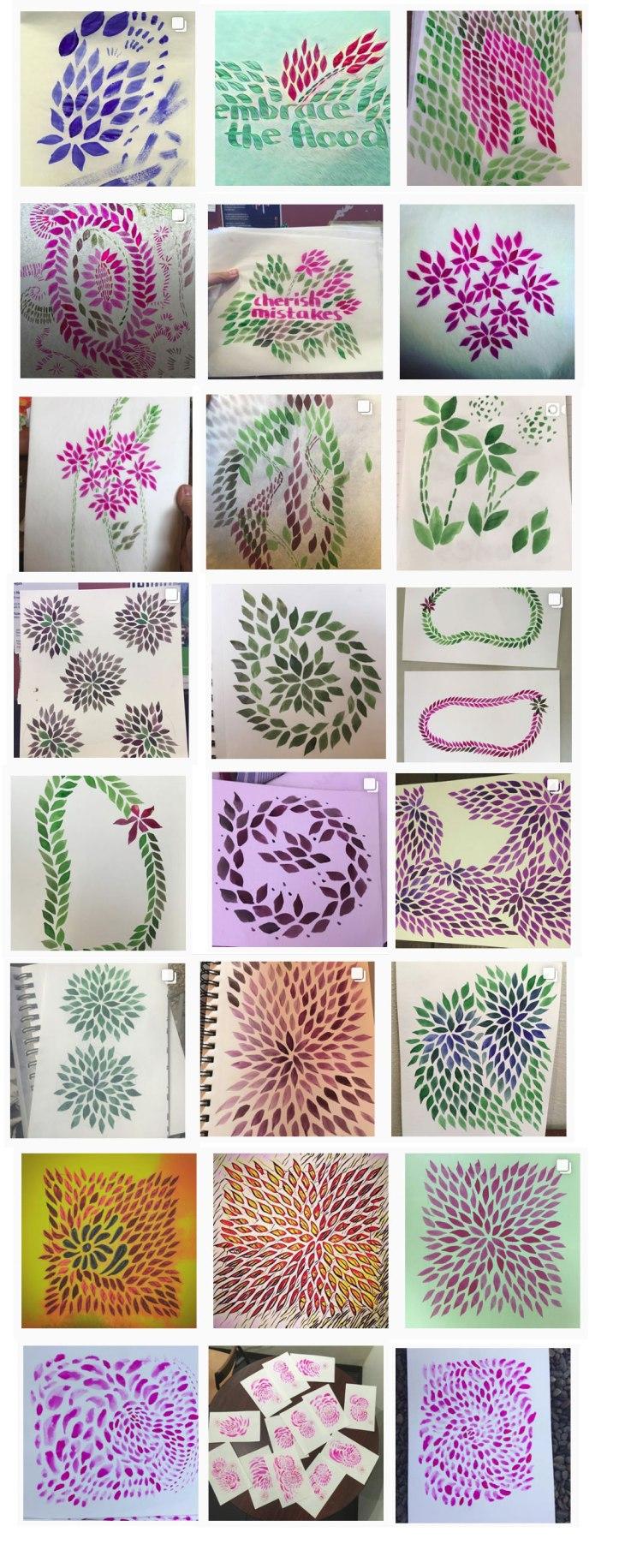 watercolorleaves